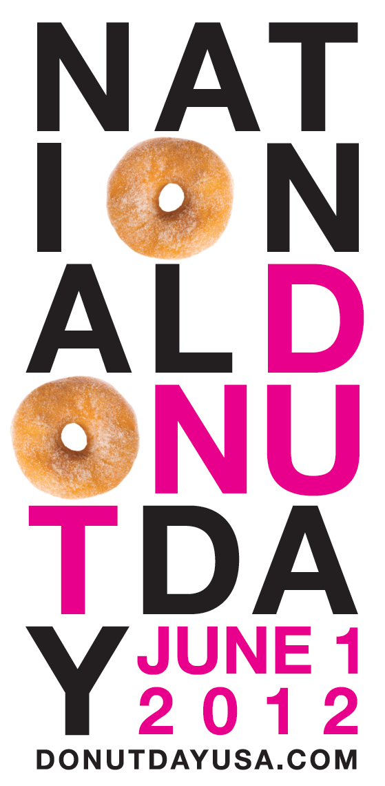 National Donut Day 2012: http://donutdayusa.com